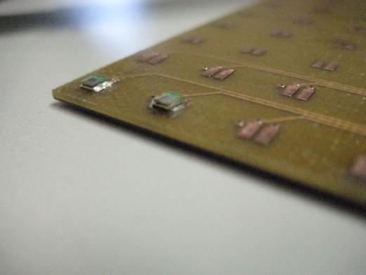 Dice Board prototype for SiPMs