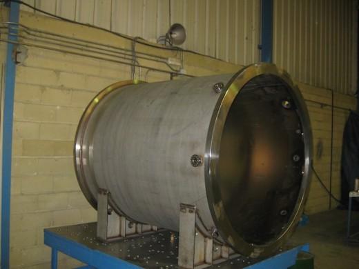The pressure vessel for NEXT-100
